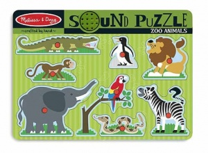 Melissa and Doug Sound Puzzle